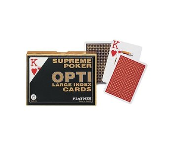 Piatnik Double decks play cards Opti - Poker