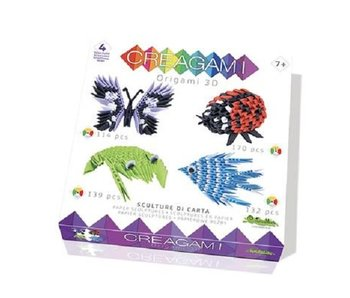 Creagami Kit of 4 (555 pcs)