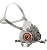 3M 6000 Series Half Facepiece Reusable Respirator Mask (Small)