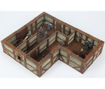 Warlock Town/Village Tiles II - Plaster Walls Exp