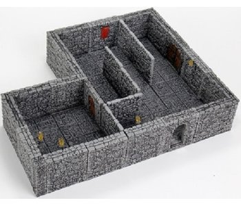 Warlock Dungeon Tiles II - Stone Walls Expansion (3