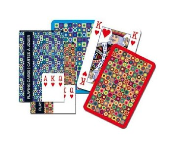 Bridge Stripes Playing Cards Single Deck