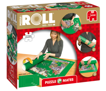 Jumbo Puzzle & roll up to 1500pc puzzles