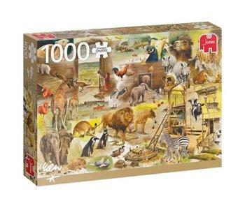 Jumbo 1000 pcs. Building Noah's Arc