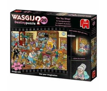 Jumbo 1000 pcs. Wasgij Destiny #20 The Toy Shop!