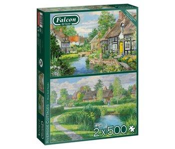 Jumbo 2x500 pcs. Riverside Cottages