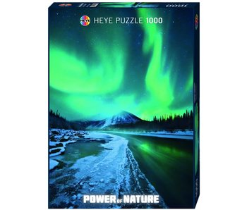 Heye Puzzle 1000pcs. Nothern Lights Power of Nature