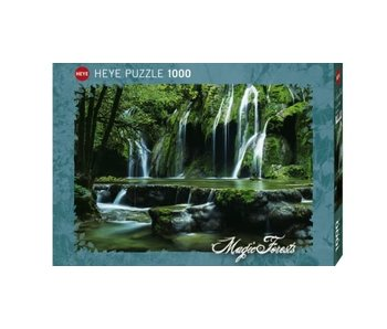Heye Puzzle 1000pcs. Cascades Magic Forests
