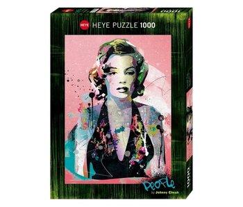Heye Puzzle 1000pcs. People Marilyn Cheuk