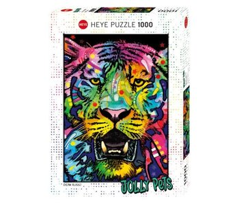 Heye Puzzle 1000pcs. Wild Tiger Jolly Pets