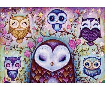 Heye Puzzle 1000pcs. Great Big Owl Ketner