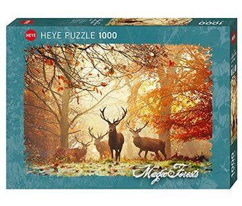 Heye Puzzle 1000pcs. Stags Magic Forest