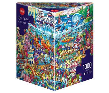 Heye Puzzle 1000pcs. Magic Sea Berman
