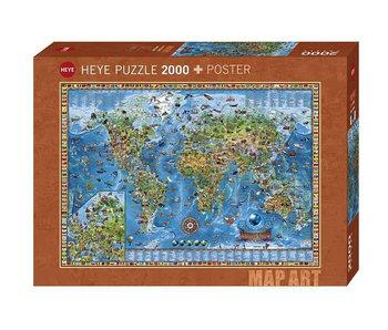 Heye Puzzle 2000pcs. Amazing World