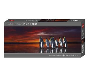 Heye Puzzle 1000 pcs. King Penguins