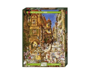 Heye Puzzle 1000 pcs. By Day Romantic Town