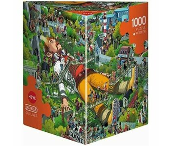 Heye Puzzle 1000 pcs. Gulliver Oesterle