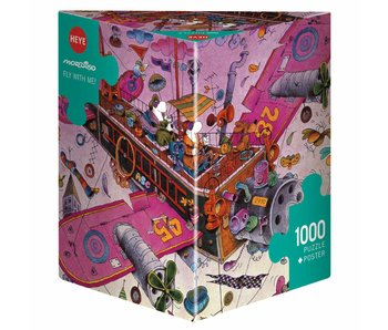 Heye Puzzle 1000 pcs. Fly with me! Mordillo