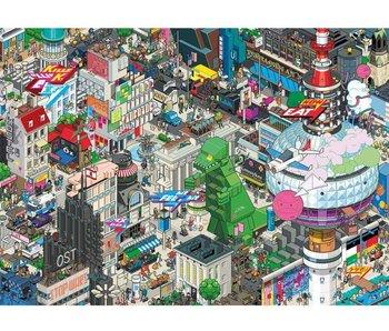Heye Puzzle 1000 pcs. Berlin Quest