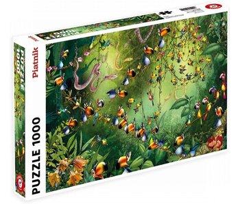 Piatnik 1000pc. Jungle Birds Ruyer