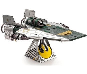 Metal Earth Star Wars A-Wing Fighter (2 sheets)
