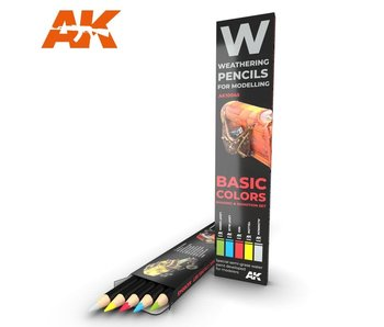 AK Interactive Watercolor Pencil Set Basics