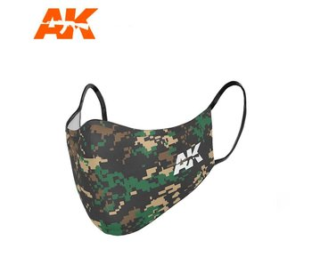 AK Interactive Face Mask Classic Camouflage 03