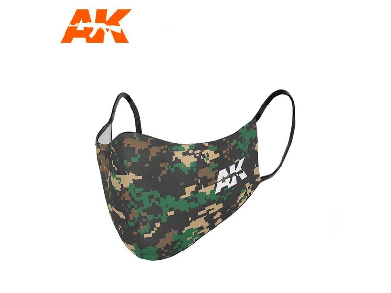 AK Interactive AK Interactive Face Mask Classic Camouflage 03