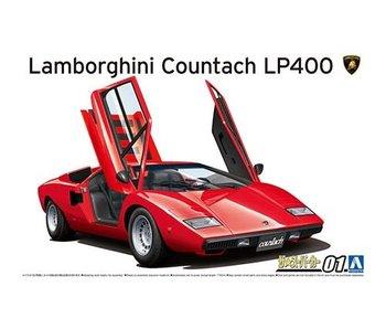 Aoshima 1/24 1974 LAMBORGHINI Countach LP400