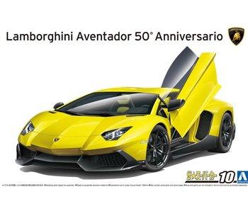 Aoshima  1/24 2013 Lamborghini Aventador 50th ANNIVERSARIO