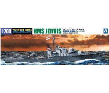 Aoshima 1/700 HMS DESTROYER JERVIS