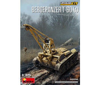 MiniArt Bergepanzer T-60 ( r ) Interior Kit (1/35)