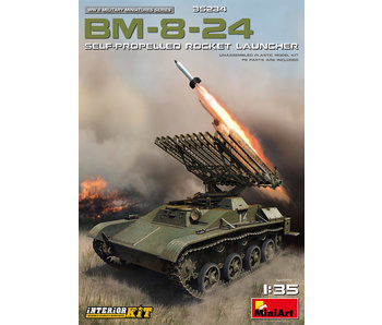 MiniArt BM-8-24 Self-Propelled Rocket Launcher Interior Kit (1/35)