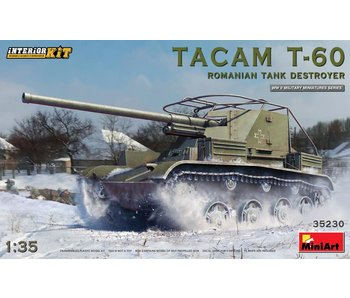 MiniArt Tacam T-60 RomanianTank Destroyer. Interior Kit
