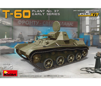 MiniArt T-60 (Plant No.37) Early Series Interior Kit (1/35)