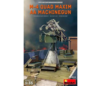 MiniArt M-4 Quad Maxim AAMachinegun