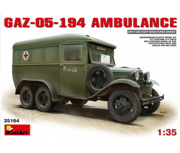 MiniArt GAZ-05-194 Ambulance (1/35)