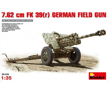 MiniArt 7.62 cm FK 39(r) GermanField Gun (1/35)
