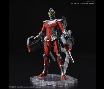 Bandai Ultraman Suit Ver 7.3 (Fully Armed) Bandai Figure-rise Standard 1/12
