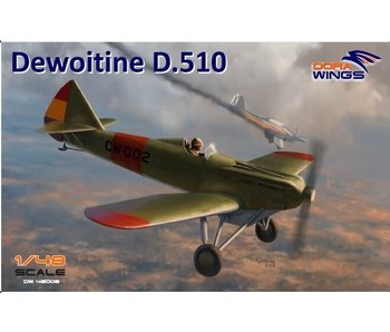 Dora Wings Dewoitine D.510 Spanish civil war (+bonus Japan NIJ)