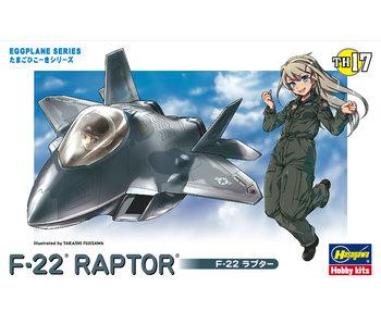 Hasegawa Egg Plane F-22 Raptor