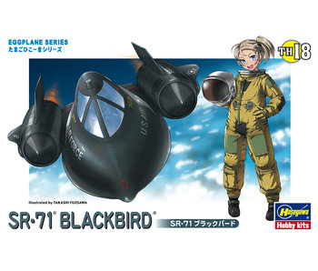 Hasegawa Egg Plane Sr-71Blackbird