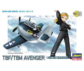 Hasegawa Eggplane Tbf/TbmAvenger