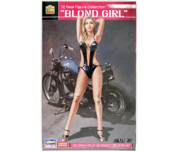 Hasegawa 1/12 Real Figure Collection No.02 Blond Girl (SP462)