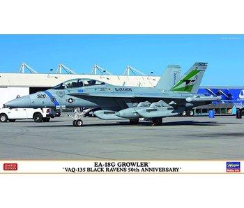 Hasegawa 1/72 EA-18G Growler  -VAQ-135 Black Ravens 50th Anniversary