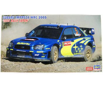 Hasegawa 1/24 Subaru Impreza WRC 2005 - 2005 Rally Mexico Winner