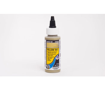 Woodland Scenics Water Tint yellow Silt CW4524
