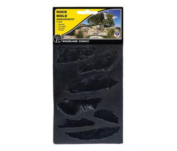 Woodland Scenics Mold - Embankments (5X7) C1233