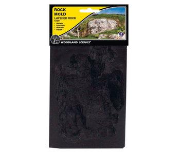Woodland Scenics Mold - Layered Rock C1241