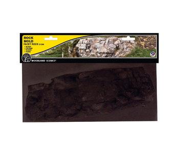 Woodland Scenics Mold - Facet Rock (10.5X5) C1244